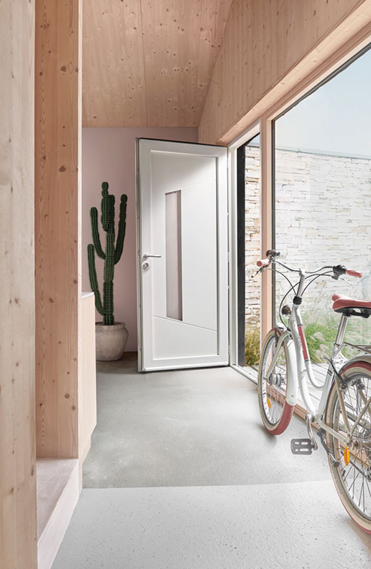 Porte d'entrée PVC Zilten